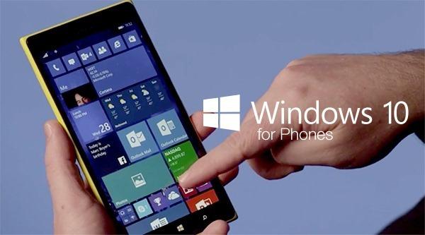 Windows 10 phones main