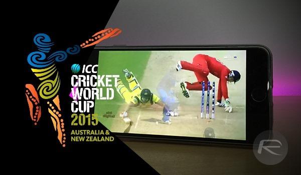 Watch Cricket World Cup 2015 Live Stream Online On iPhone, Android, Web, Apple TV