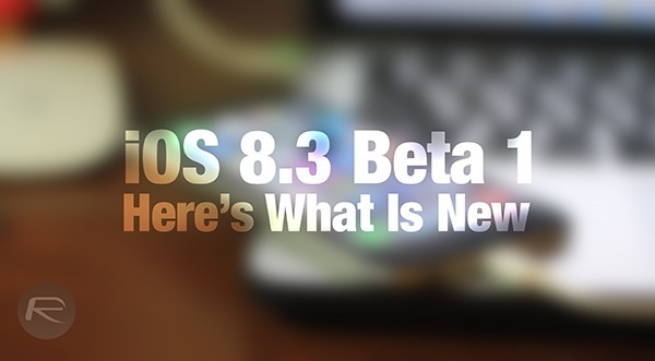 iOS 83 beta new main