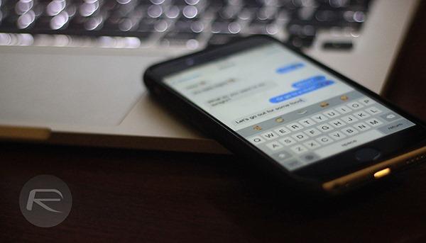 iPhone keyboard main