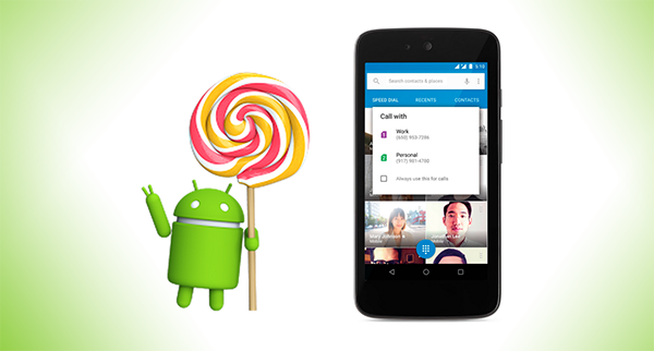 Android 51 lollipop
