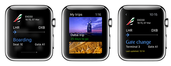 Apple Watch Emirates