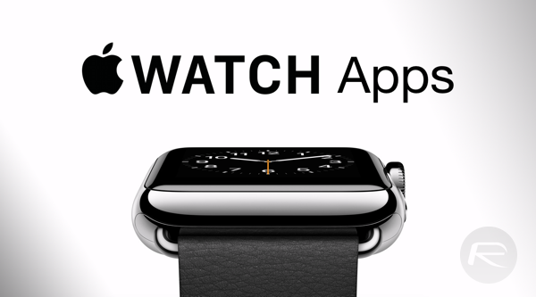 Apple Watch apps main
