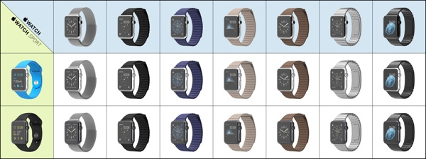 Apple Watch bands 1