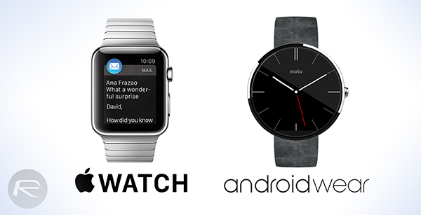 Apple watch vs android wear main