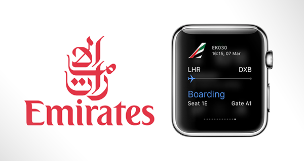 Emirates apple watch app main
