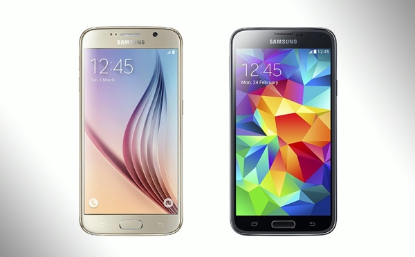 Galaxy S6 vs GS5