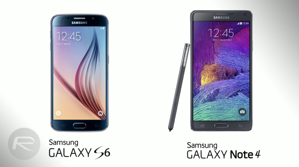 Galaxy S6 vs Galaxy Note 4 main