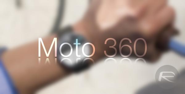 Moto 360 main