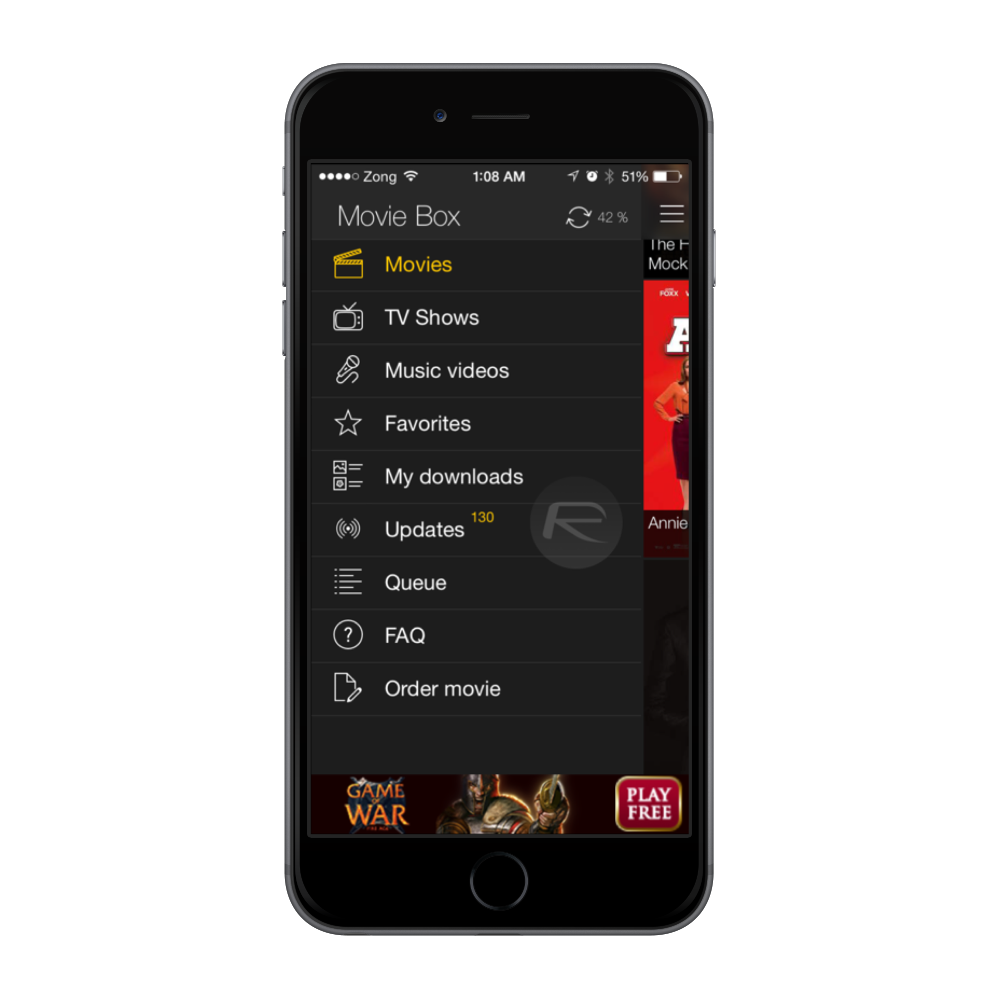 MovieBox iPhone6
