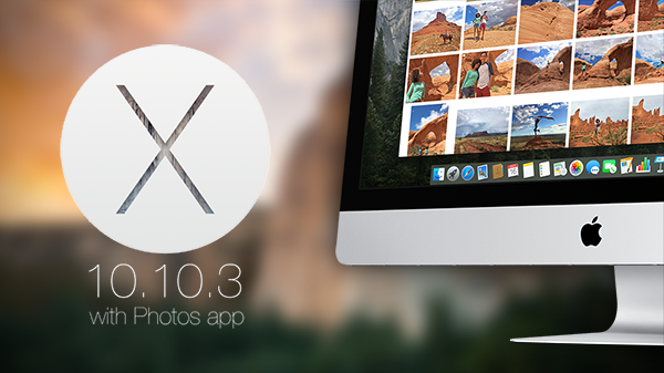 OS X 10103 photos app main