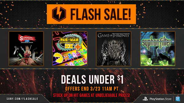 PS Flash sale main