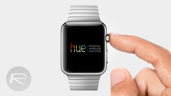 Philips Hue App Apple Watch main