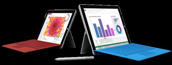 Surface 3 vs Pro 3