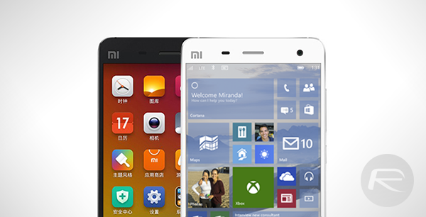Windows 10 Xiaomi