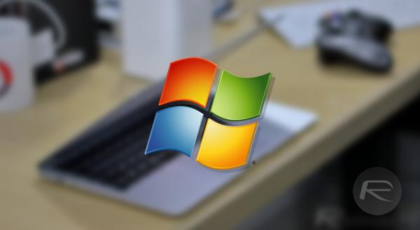 Windows 7 mac main