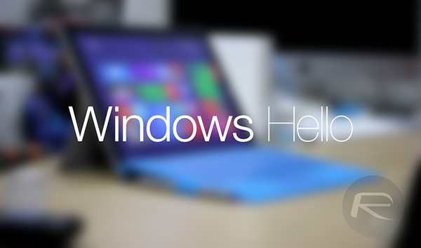 Windows Hello Windows 10 main