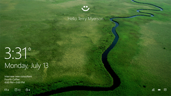 Windows Hello main