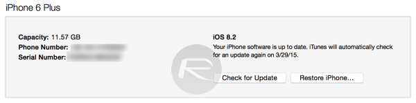 iOS 82 update connected