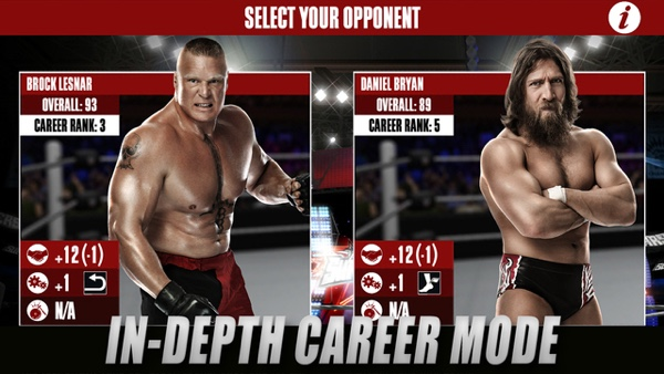WWE 2K Game For iOS, Android Released [Direct Download Links