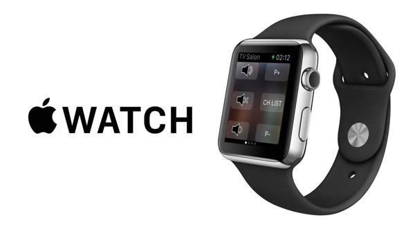 Apple Watch tv remote