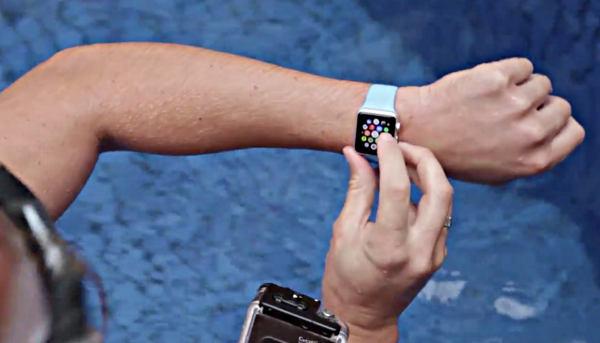 Apple Watch water test main