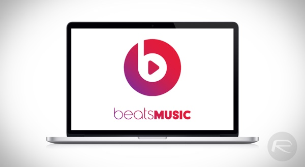 Beats Music mac main