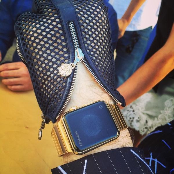 Gold Apple Watch link
