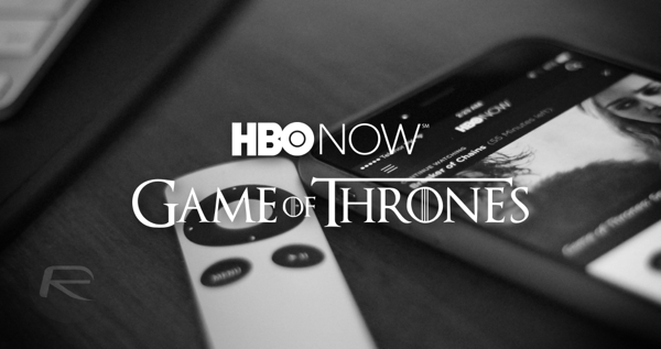 HBO NOW game of thrones main