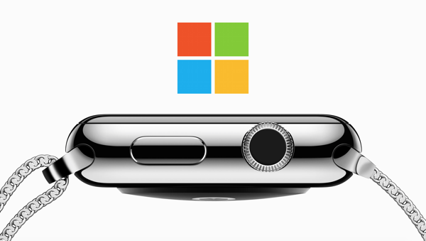Microsoft Apple Watch main