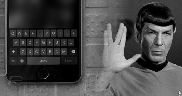 Vulcan salute iOS Mac main