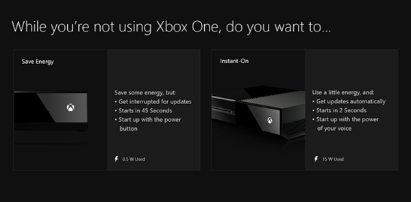 Xbox One power