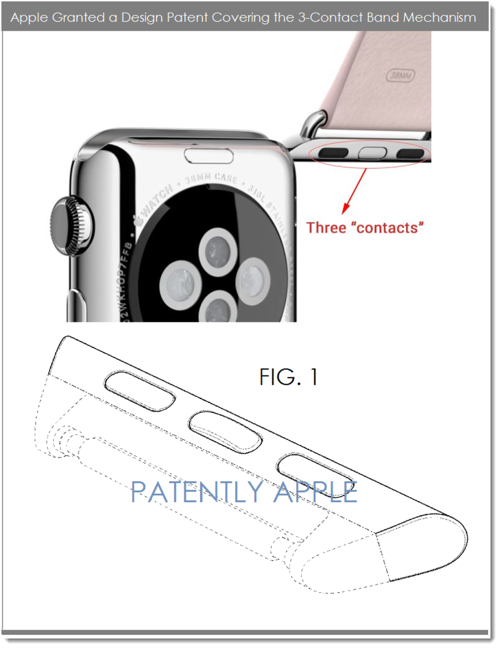 apple band patent