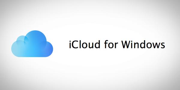 iCloud for Windows main