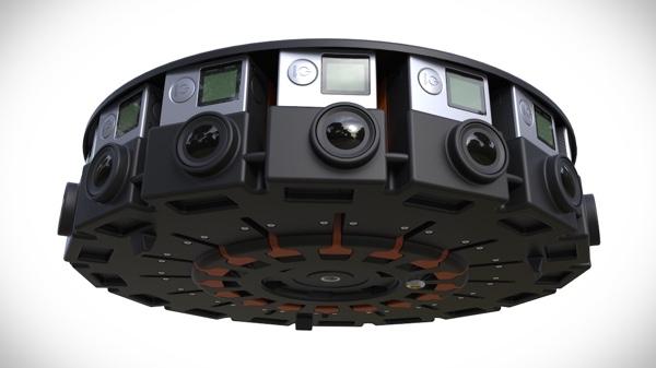 GoPro Announces Insane 360-Degree 16-Camera Rig For Capturing VR