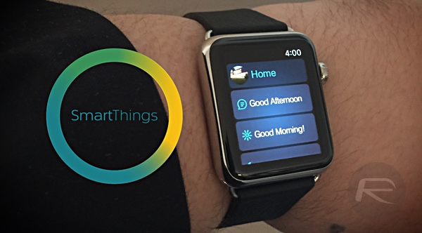 Apple Watch SmartThings main