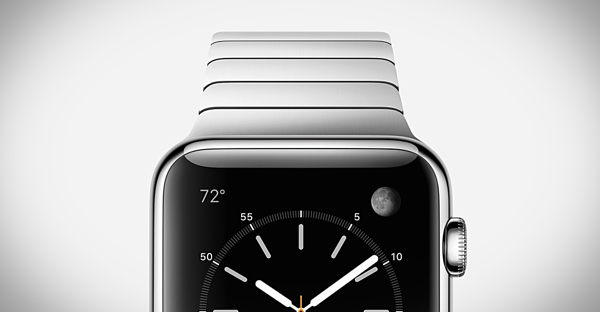 Apple Watch face main