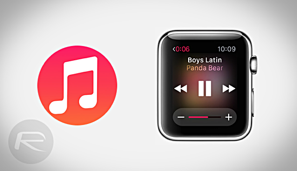 Apple Watch music main
