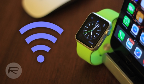 Apple Watch wifi main