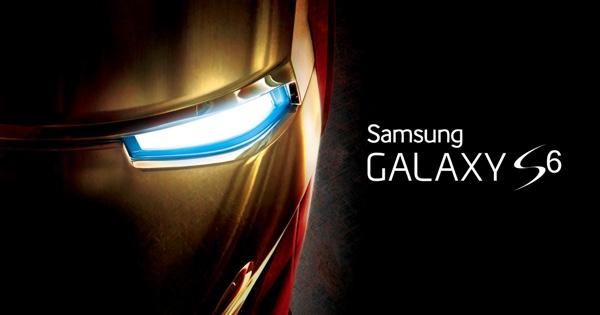 Galaxy S6 iron man main