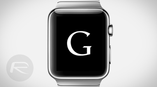 Google Apple Watch main
