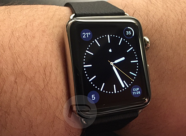 Add Apple Logo Monogram To Apple Watch Clock Face Here S How Redmond Pie