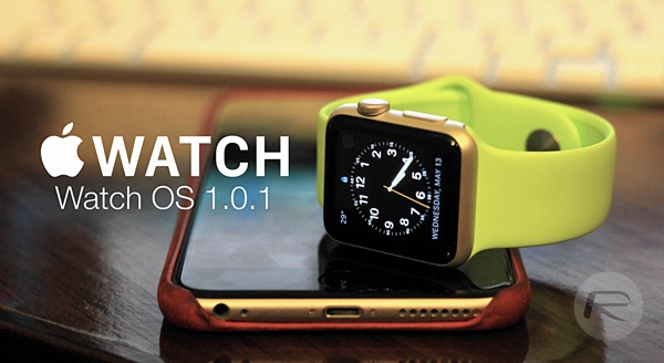 Apple Watch OS 1 0 1 Download Released, Changelog And Features