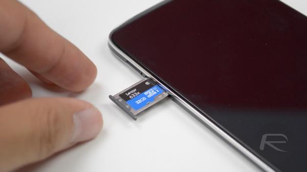 Idol 3 microSD