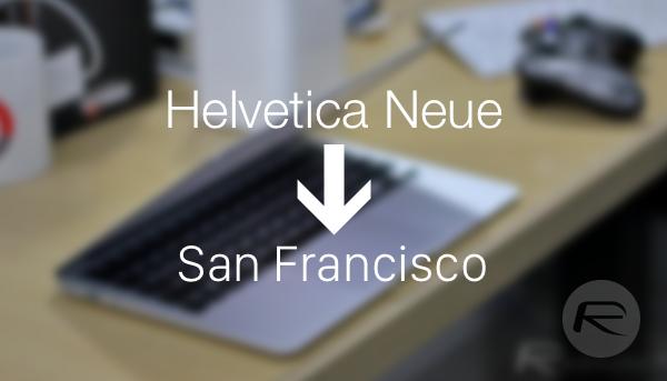 OS X font main