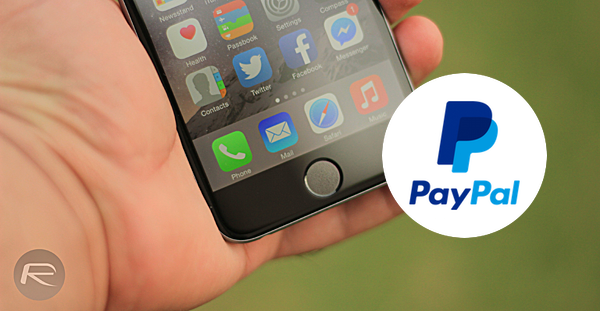 PayPal touch id main