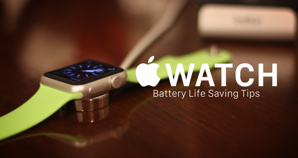 Save Apple Watch battery main