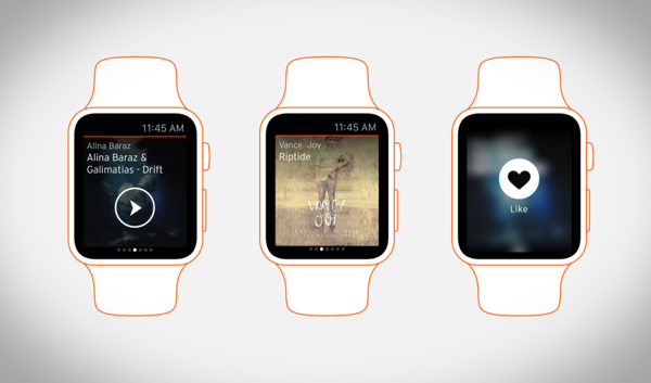 SoundCloud Apple Watch