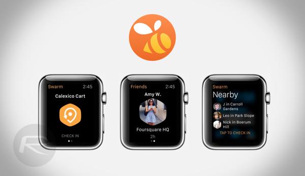 Swarm Apple Watch main