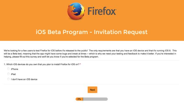 firefox invite